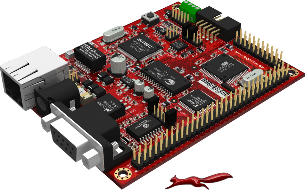 egnite - Embedded Systeme - Ethernut  - Single Board Computer