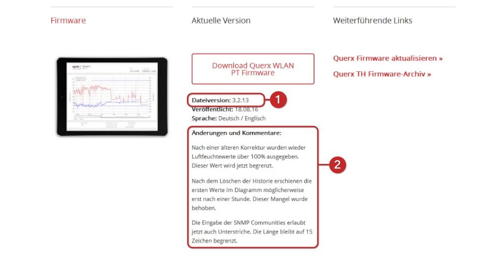 Tutorial: Querx Firmware-Update (S4)