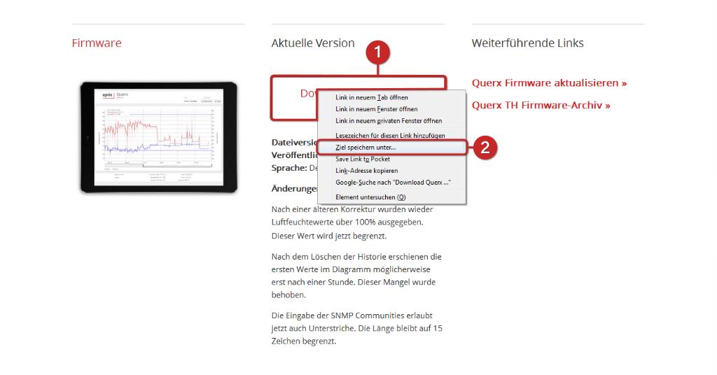 Tutorial: Querx Firmware-Update (S5)