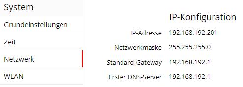Tutorial: Querx E-Mail-Versand - Netzwerkkonfiguration überprüfen