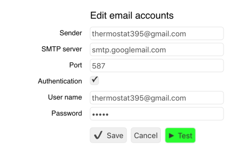 Tutorial: Setting up Email Notifications - Setting up Email Accounts